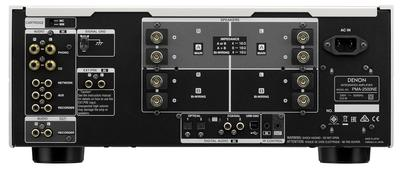 Denon 2x 160w reference integrated amplifier   silver   4