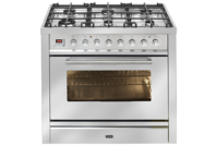 ILVE 90cm Freestanding Dual Fuel Oven/Stove