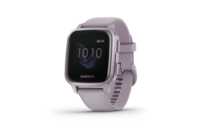 Garmin Venu SQ - Metallic Orchid Aluminium Bezel With Orchid Case And Silicone Band