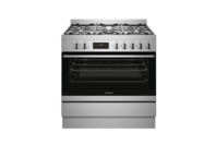 Westinghouse 90cm Stainless Steel Dual Fuel Freestanding Cooker