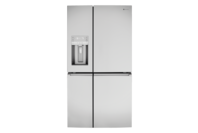 Westinghouse 686l French 4dr Fridge - Ice & Water - Stainless Steel