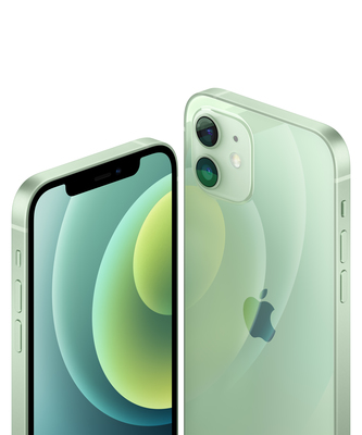 Iphone 12 green close up