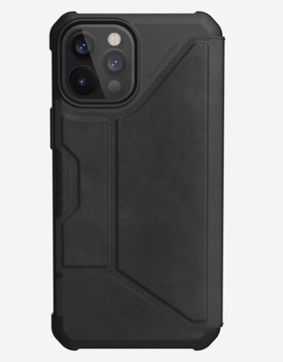 UAG metropolis - iPhone 12 Pro Max - leather Black