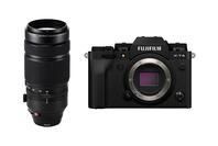 Fujifilm X-T4 Black + Fujifilm XF100-400mm F4.5-5.6 R LM OIS WR Lens