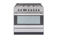 Haier Freestanding Cooker, 90cm, 5 Burners, Gas Cooktop