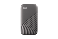 WD My Passport SSD, 2TB, USB 3.2 Gen-2 HDD - Grey