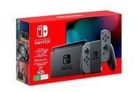 Nintendo Switch Console with Mario Kart 8 Deluxe + 3 Month Switch Online - Grey