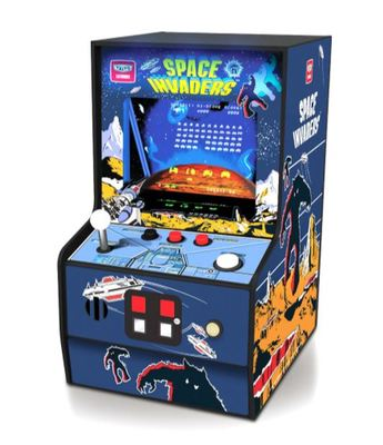 Retro Space Invaders Micro Player