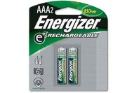 Energizer AAA Nickel Rechargeable Battery 2 Pack