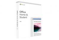 Microsoft office home & student 2019 retail box meadialess