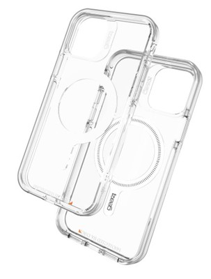Gear4 - Crystal Palace Snap Case for Apple iPhone 12 / 12 Pro - Clear