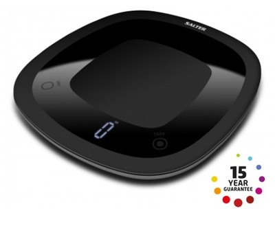 Salter Waterproof Black Digital Kitchen Scale