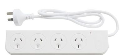 Pudney 4 Way Surge With Modem Surge Protection