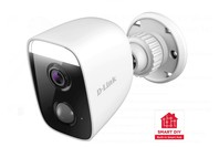 D-Link Full HD Outdoor Wi-Fi Spotlight Camera with Built-in Smart Home Hub