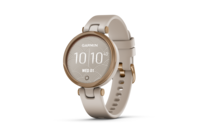 Garmin Lily - Sport Edition Rose Gold Bezel with Light Sand Case and Silicone Band