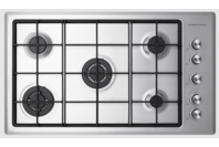 Fisher & Paykel Gas on Steel Hob 90cm LPG Flush Fit Cooktop