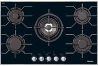 Miele Gas Cooktop with 5 Burners Including Centre Dual Wok