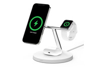 Belkin 3-in-1 Wireless Charger with MagSafe White