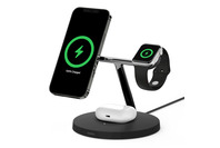 Belkin 3-in-1 Wireless Charger with MagSafe Black