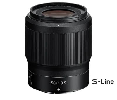 Nikkor Z FX 50mm F1.8 S-Line Prime Lens