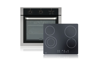 Haier 60cm Built-in Oven & Ceramic Cooktop Package