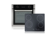 Haier 60cm Built-in 7 Function Oven & Ceramic Cooktop Package