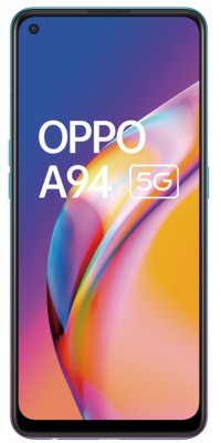 Oppo a94 5g cosmo blue front lowres