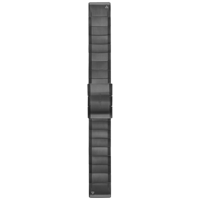 Garmin QuickFit 22 Titanium Watch Band (Carbon Grey DLC)