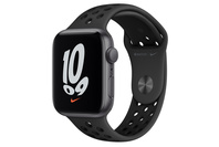 Apple Watch Nike SE GPS, 44mm Space Grey  Case With Anthracite/Black Band