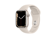 Apple Watch Series 7 GPS 41mm Starlight Aluminium Case With Starlight Sport Band