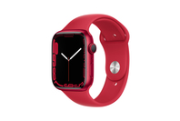 Apple Watch Series 7 GPS + Cellular 45mm Red Aluminium Case With Red Sport Band