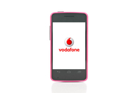 Smart Mini from Vodafone - Pink (Display)