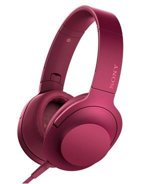 Sony h.ear on High Res Headphones - Pink (Display)