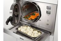 Miele Steam Pressure Oven - Stainless Steel