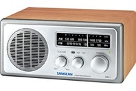 Sangean FM/AM Retro Style Table Radio - Walnut