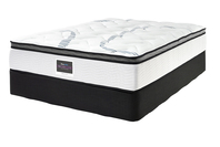 SLEEPMAKER MONTEGO PLUSH MATTRESS & BASE DOUBLE