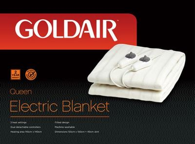 Goldair Queen Fitted Electric Blanket