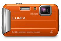 Panasonic Lumix Tough Camera Orange