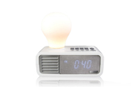S-Digital Lightyear Clock Radio - White